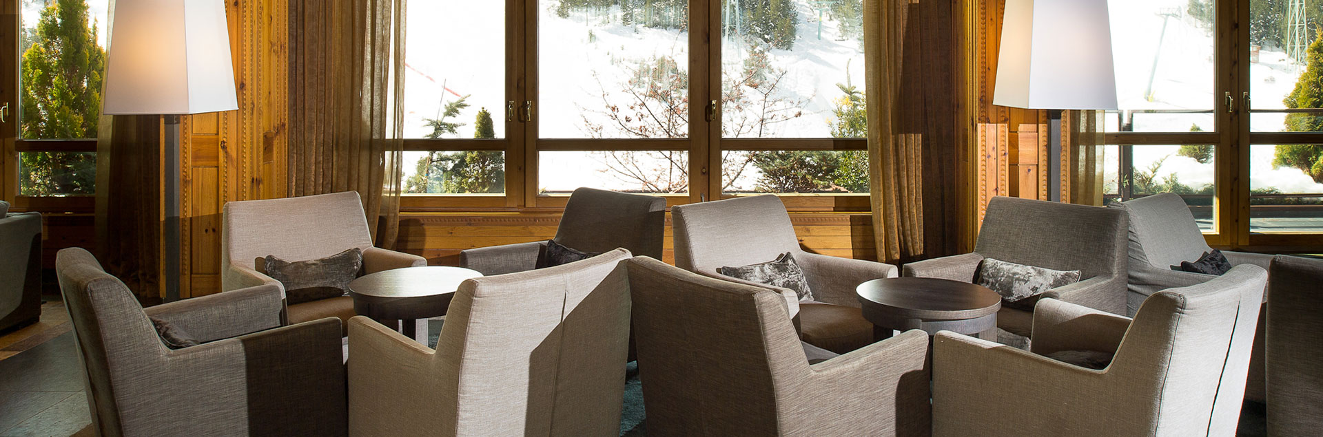 grandvalira slopes views glassbar hermitage hotel