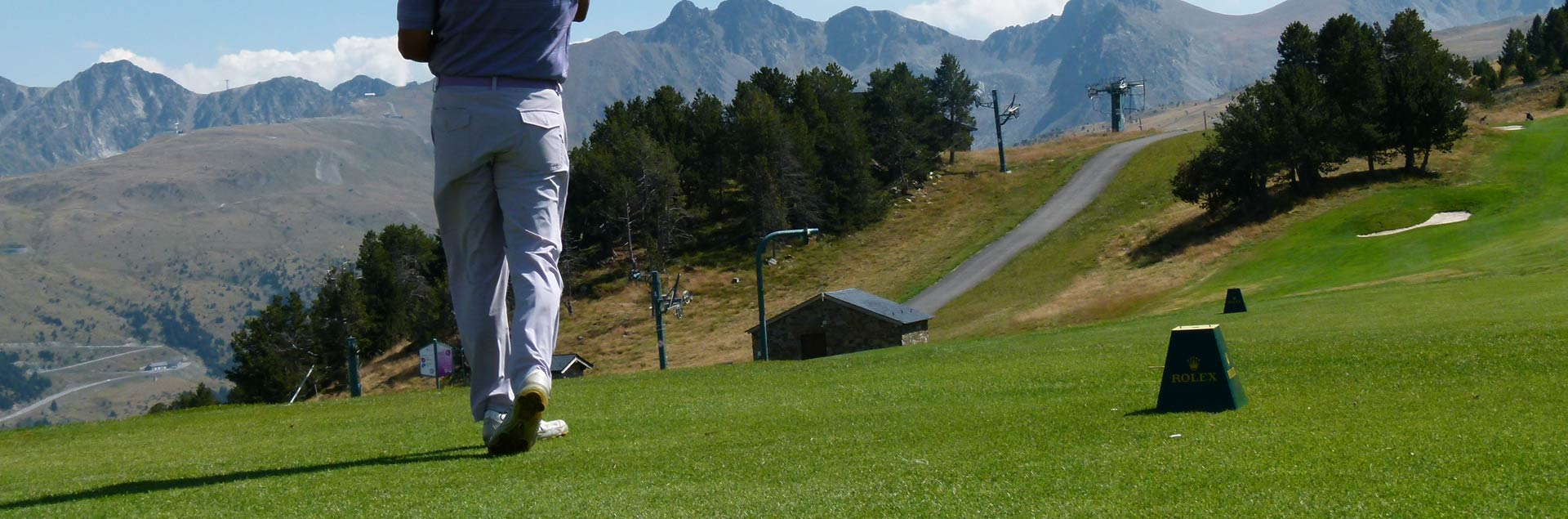 9 holes court of Grandvalira Soldeu